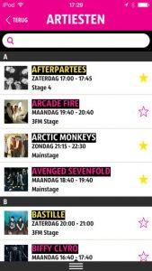 pinkpop 2014 app
