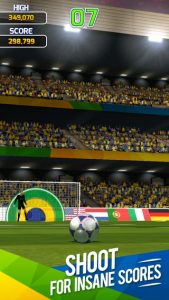 iphone voetbalgames flick