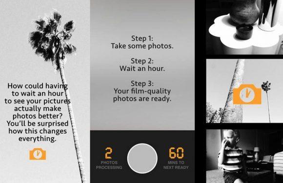 Deze app laat je een uur wachten op je foto