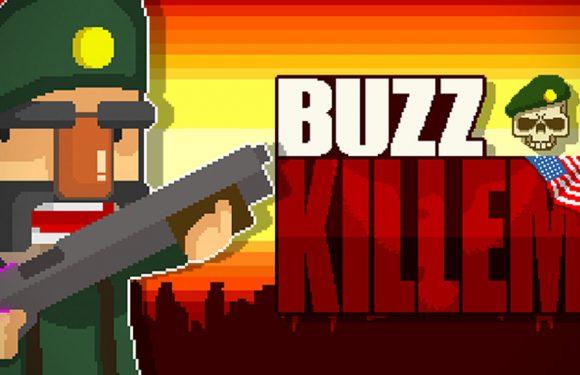 Schiet op aliens met oorlogsveteraan Buzz Killem