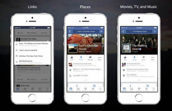 Facebook Save: vind berichten terug die je aandacht verdienen