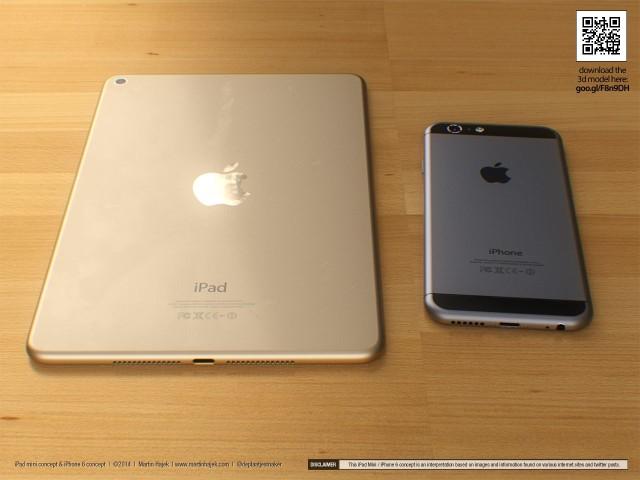 ipad mini concept iphone
