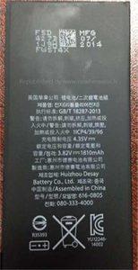 iphone 6 accu