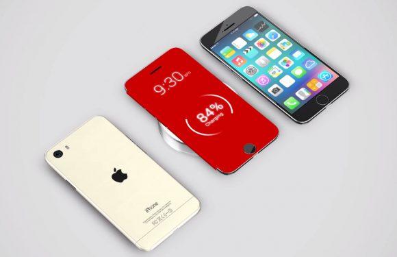 iPhone 6 Pro concept: draadloos opladen en een notificatie-hoesje