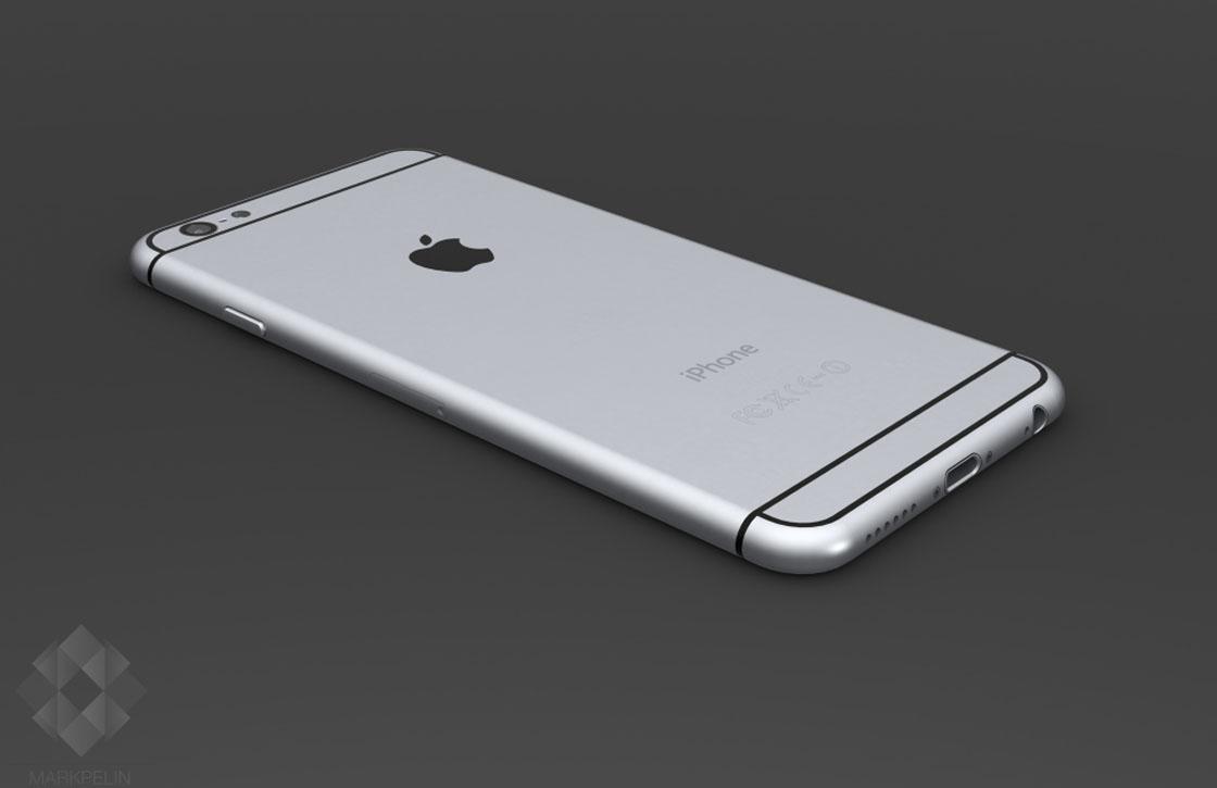 De details van deze iPhone 6 renders zie je niet in fysieke mockups