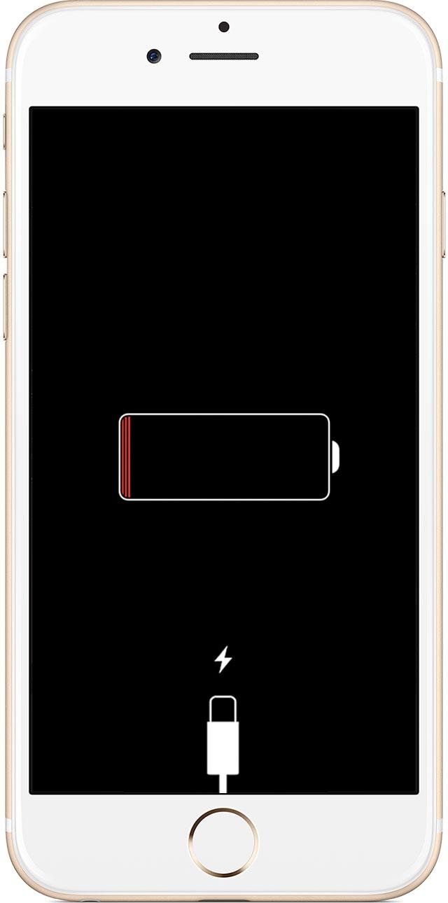 Iphone  Laad Niet Op Knippert