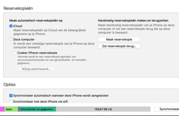 iPhone fabrieksinstellingen