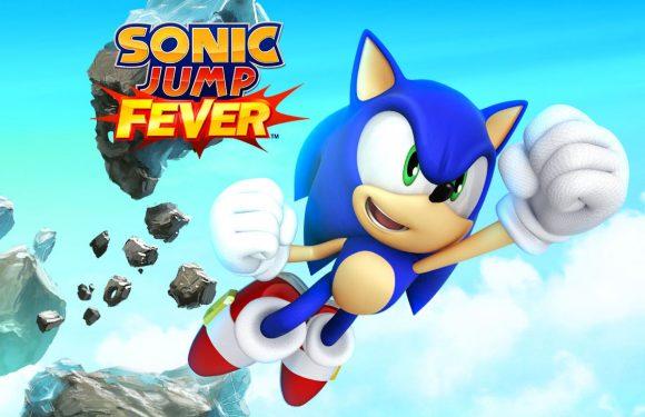 Spring naar topscores in Sonic Jump Fever