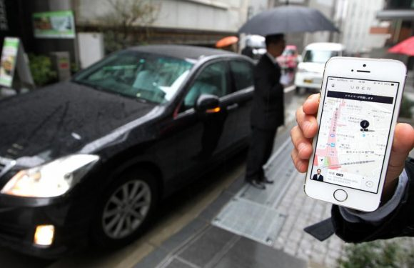 Uber registreert locatie van gebruikers op de achtergrond