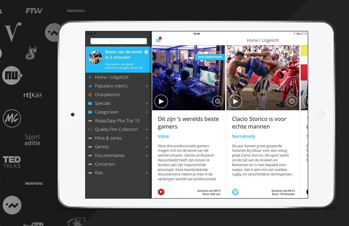 Videodienst WappZapp Plus vanaf nu voor iedereen beschikbaar