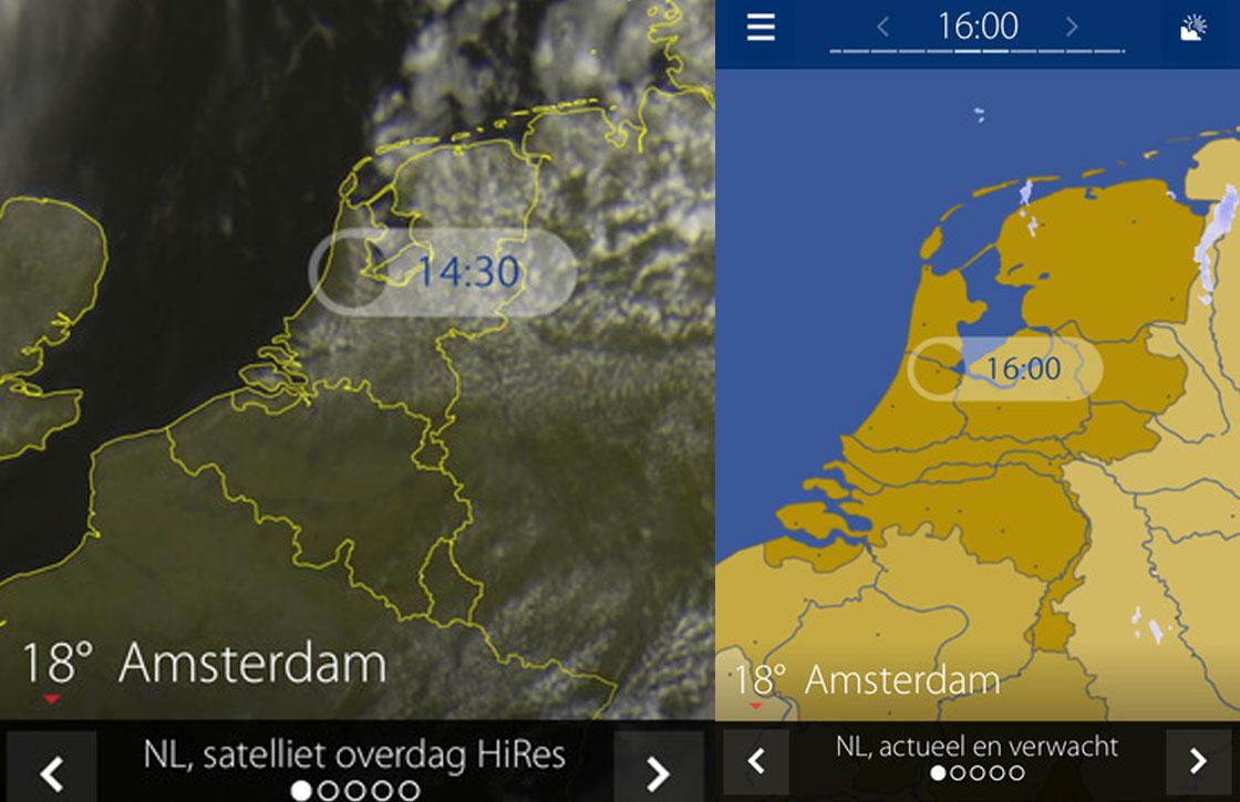 Weerslag: de nieuwe weer-app van de makers van Buienradar