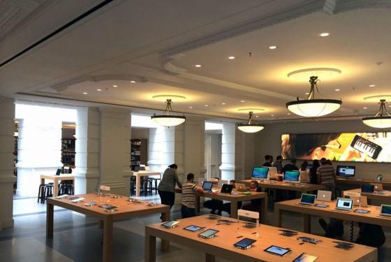 Zo werkt de nieuwe draadloze iPhone-beveiliging in de Apple Store