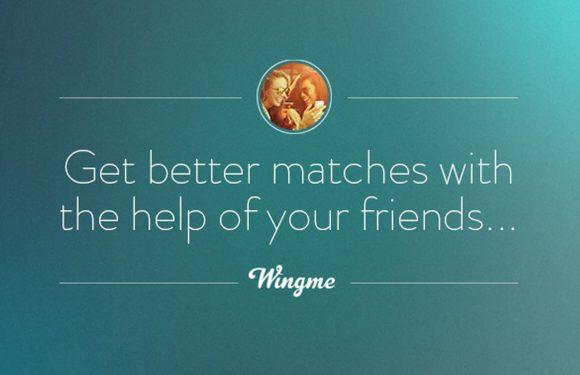 Vrienden helpen je aan een date met Wingme