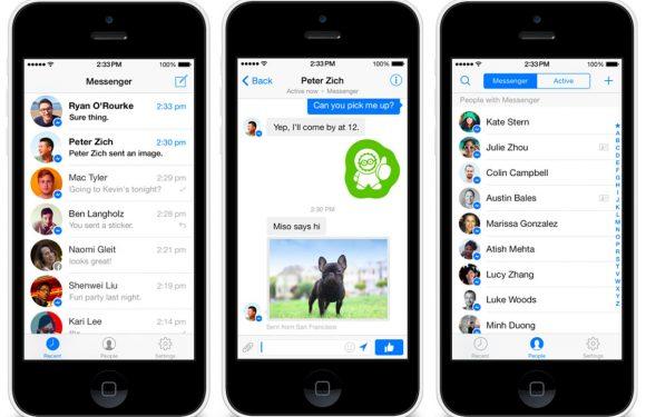 Weinig mensen blij met gedwongen overstap naar Facebook Messenger