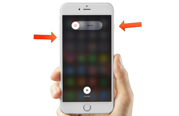 iPhone 7 resetten