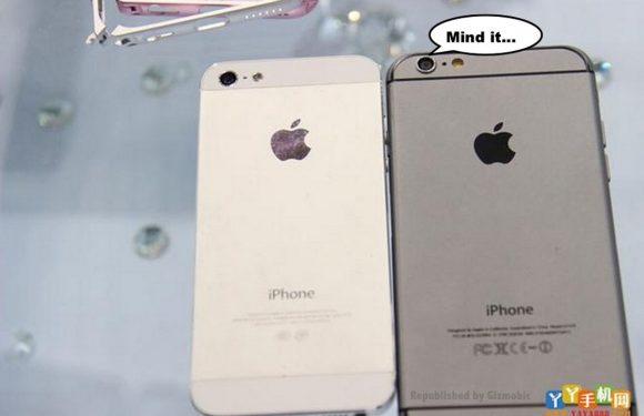 Deze foto's tonen de beste iPhone 5 en iPhone 6 vergelijking