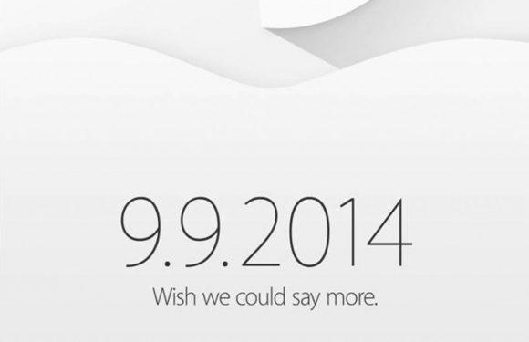 Officieel: iPhone 6 aankondiging is op 9 september
