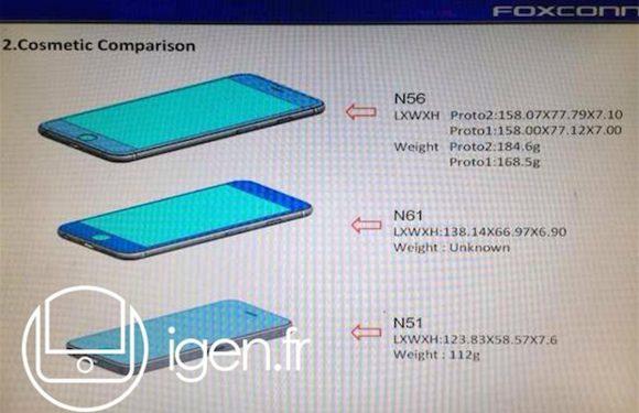 Op deze gelekte plaatjes zijn iPhone 6 afmetingen te zien
