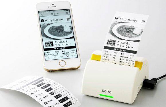 Dit apparaatje maakt een print van je iPhone scherm