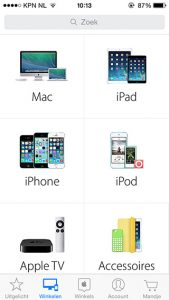 Apple Store-app