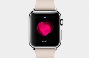 Apple Watch groot