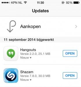 iOS 8 downloaden