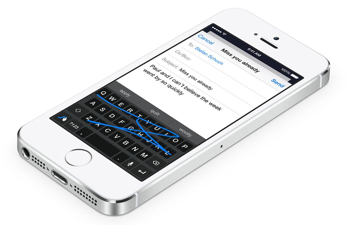 Met deze 4 iOS 8 toetsenborden typ je straks helemaal foutloos