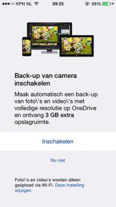 OneDrive opslag
