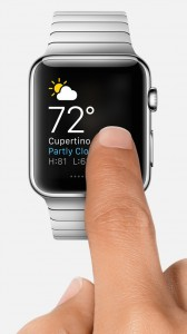 apple watch touch