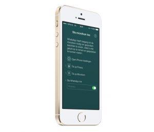 WhatsApp iOS-update