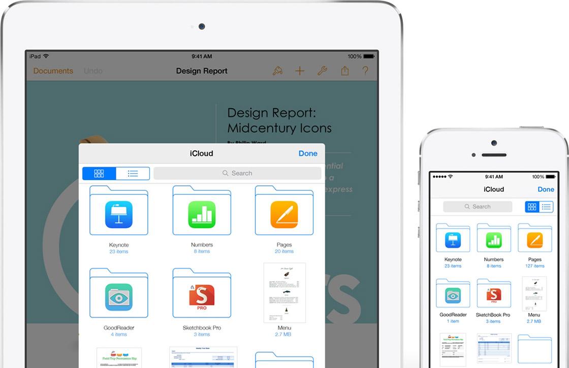 'Bug in iOS 8 verwijdert alle iCloud Drive-bestanden'