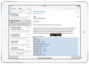 iOS 8 Mail