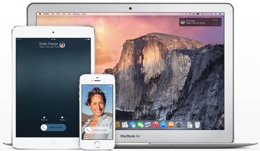 iOS 8 OS X