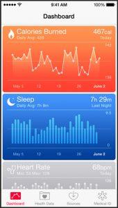 iOS 8 gezondheid