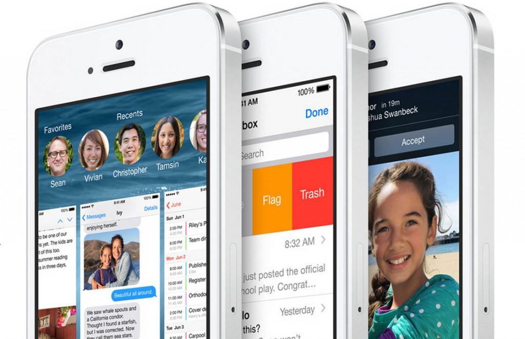 iOS 8 batterij