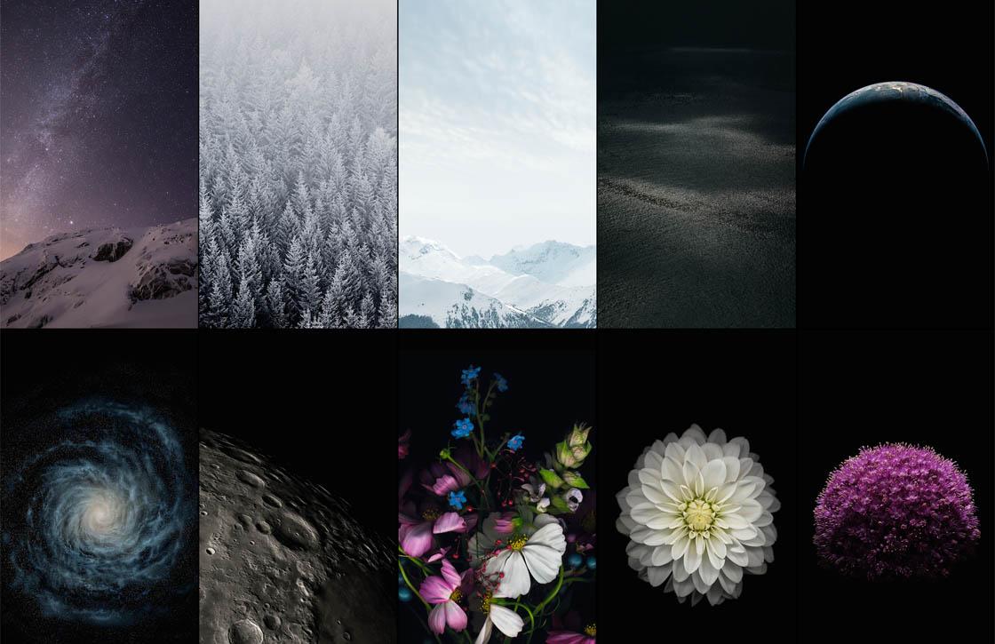 Download: 15 gloednieuwe iOS 8 wallpapers