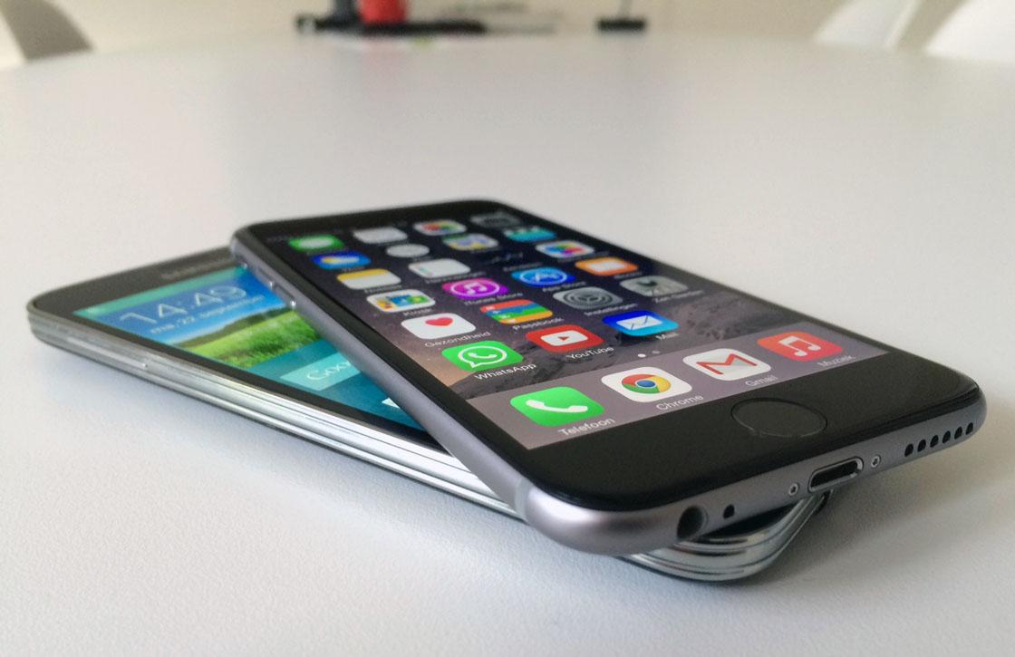 iPhone 6 vs Galaxy S5: hierop moet je letten in je keuze