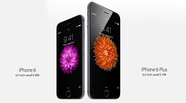 iphone 6 kiezen