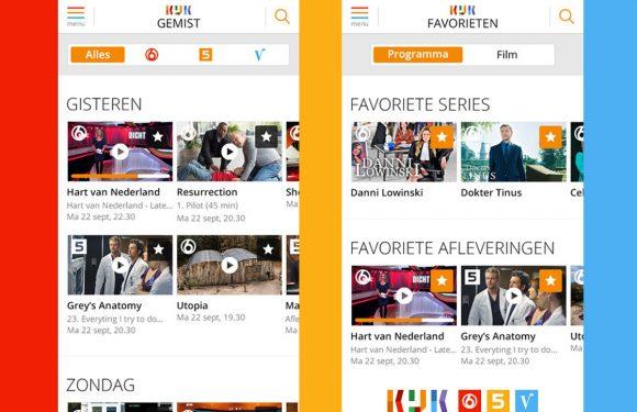 KIJK: programma's en films van SBS nu ook via iOS te bekijken