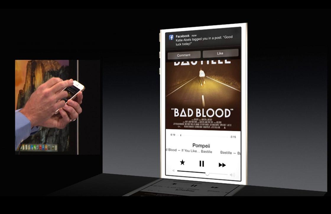 iOS 8 tip: interactieve meldingen checken in het berichtencentrum