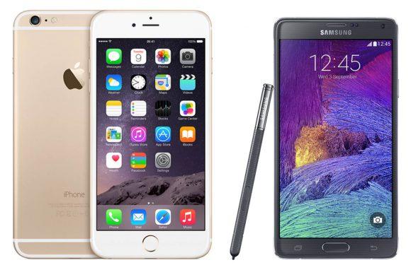 iPhone 6 Plus versus Galaxy Note 4: welke phablet moet je hebben?