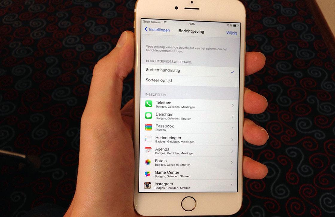 iOS 8 tip: zo schakel je app-meldingen volledig uit