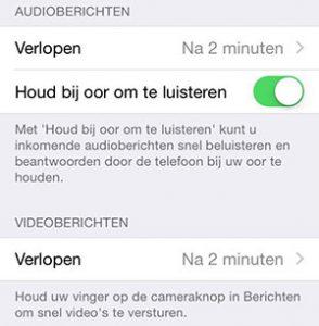Berichten-app