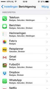app-meldingen
