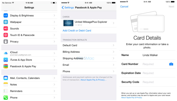 apple pay installeren