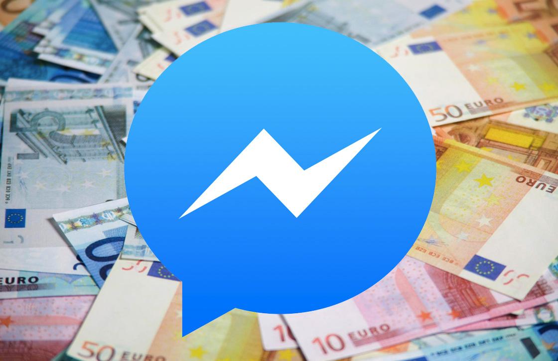 Straks kun je geld overmaken via de Facebook Messenger app