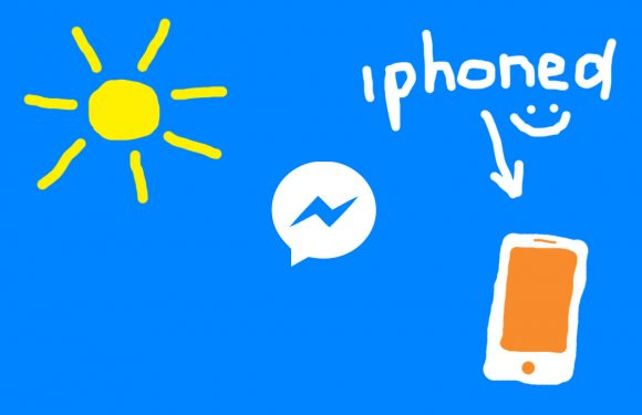 Voeg tekst en krabbels toe aan foto's in Facebooks Messenger-app
