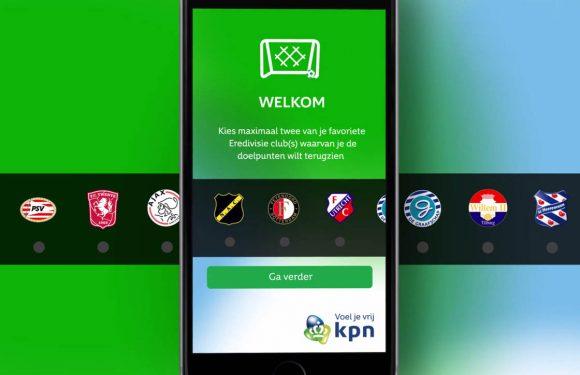 KPN Goal Alert: bekijk gratis Eredivisiegoals van je favoriete teams