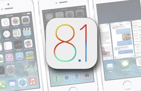 Downgraden naar iOS 8.1 kan niet meer