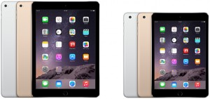 ipad air 2 ipad mini 3